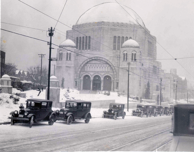 The Temple In Winter, 1927