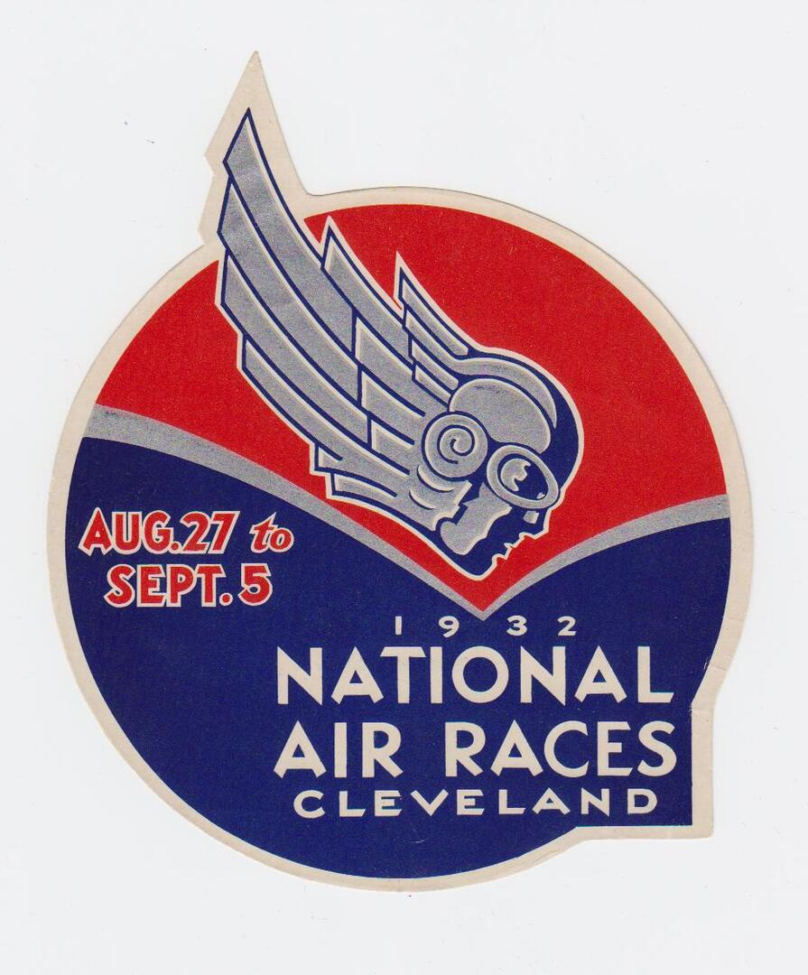 National Air Races Decal, 1932