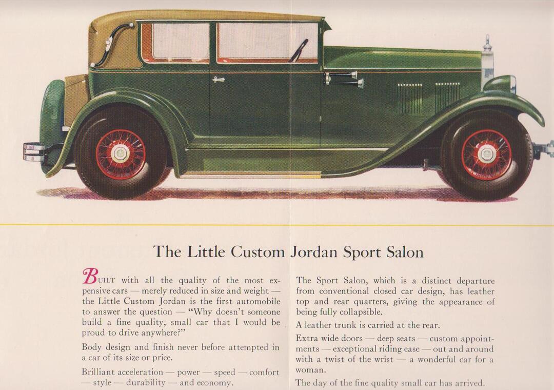 Jordan Sport Salon Ad