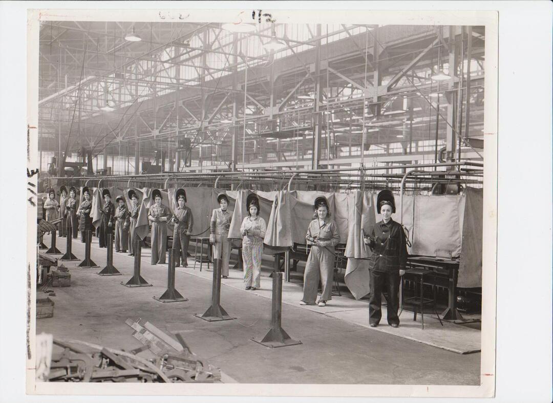 Women At Republic Steel, 1942