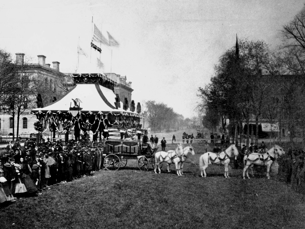 Funeral Carriage 1865 Cleveland Historical