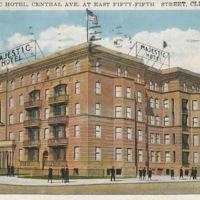 Majestic Hotel Postcard, 1930s