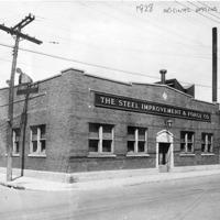 Exterior circa 1928.