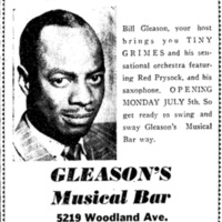 Gleason's Ad, 1948